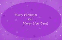 Noël de carte joyeux Illustration de Vecteur