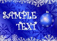 Noël de cdr de fond Photographie stock libre de droits