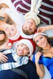 Noël de Cheeful Images libres de droits