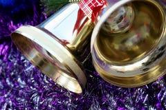 Noël de cloches Images libres de droits
