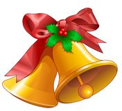 Noël de cloches illustration de vecteur