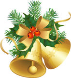 Noël de cloches Photographie stock