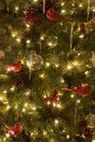 Noël de décorations d'arbre de Noël photos libres de droits