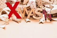 Noël de décorations de Noël Photo stock