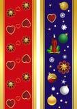 Noël de drapeau Images stock