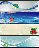 Noël de drapeaux différent Photos stock