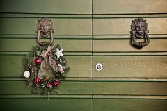 Noël de fête de guirlande Photo libre de droits