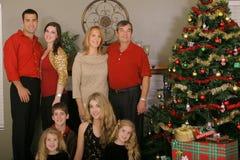 Noël de famille images stock