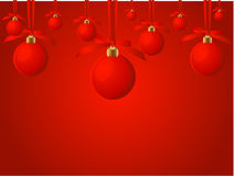 Noël de fond Photographie stock