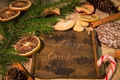 Noël de fond de Noël Joyeux Photo stock
