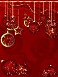 Noël de fond joyeux Photographie stock libre de droits