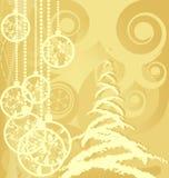 Noël de fond joyeux Photos stock