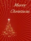 Noël de fond joyeux Images stock