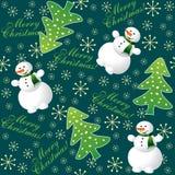 Noël de fond sans joint Image stock