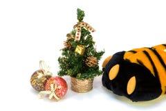 Noël de Fourrure-arbre avec un talisman Photo libre de droits