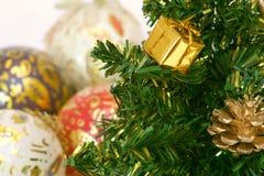 Noël de Fourrure-arbre (facture) Photographie stock