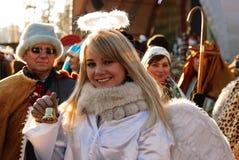 Noël de Kharkiv Ukraine de festival Image stock