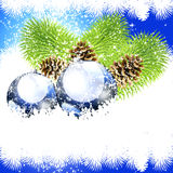 Noël de luxe de fond Images libres de droits