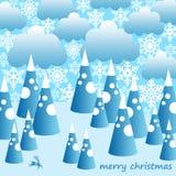 Noël de Milou illustration de vecteur