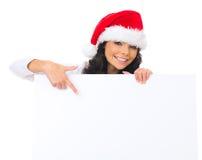 Noël de nana de panneau Photographie stock
