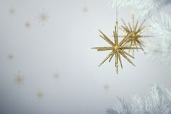Noël de pétillement Images libres de droits