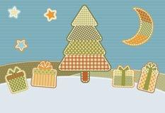 Noël de rapiéçage Photo stock