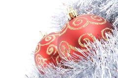 Noël deux de billes Image stock