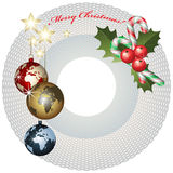 Noël du monde Photographie stock libre de droits