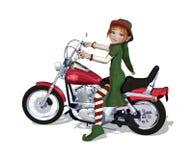Noël Elf prêt à monter Photos libres de droits