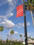 Noël en Floride Images libres de droits