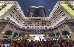 Noël en ville de Hong Kong Photos stock
