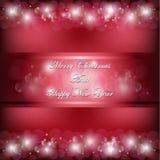 Noël Engelse rouge Stock Foto