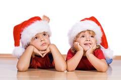 Noël est?. photos stock