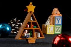 Noël est pour des enfants Image stock
