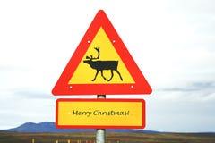 Noël est sur son chemin Photo stock
