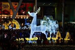 Noël et bonne année 2017 Photos libres de droits