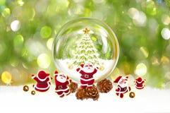 Noël et le père noël Images libres de droits