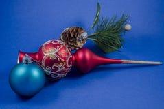 Noël et an neuf Photographie stock libre de droits