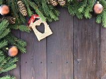 Noël et an neuf heureux  images stock