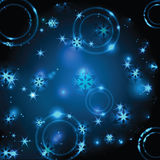 Noël et nouvelle année miroitant le fond Photographie stock