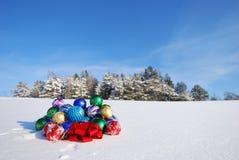 Noël et ornement d'an neuf Images libres de droits