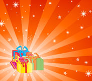 Noël et présents illustration stock