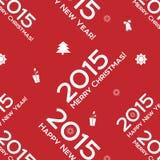 Noël exprime le modèle sans couture Photo libre de droits