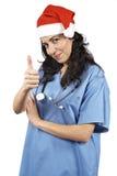 Noël femelle de docteur Image libre de droits
