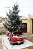 Noël Fiat Image libre de droits