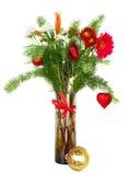 Noël fleurit le bouquet Photographie stock libre de droits