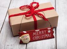 Noël handcraft des boîte-cadeau photo libre de droits