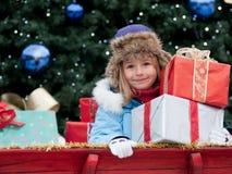 Noël heureux Photographie stock libre de droits