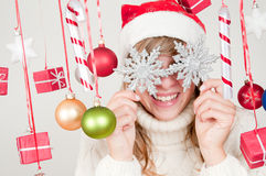 Noël heureux Photo libre de droits