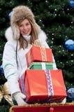 Noël heureux Photo stock